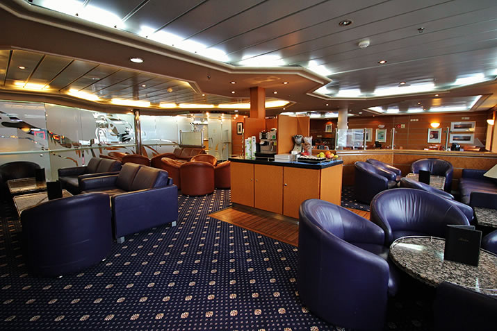 Magnus' Lounge on MV Hrossey and MV Hjaltland; the ferry to Shetland and Orkney