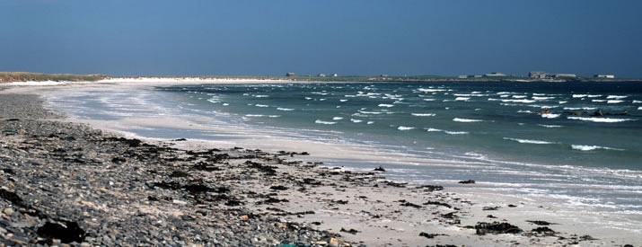 Lopness beach on the Orkney island of Sanday
