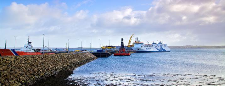 NorthLink Ferries Hatston terminal, Kirkwall, Orkney