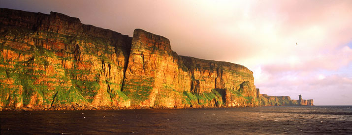 St John's Head and the Old Man of Hoy