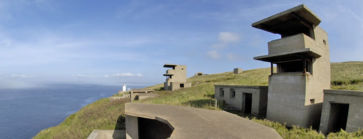 Hoxa Battery, South Ronaldsay, Orkney