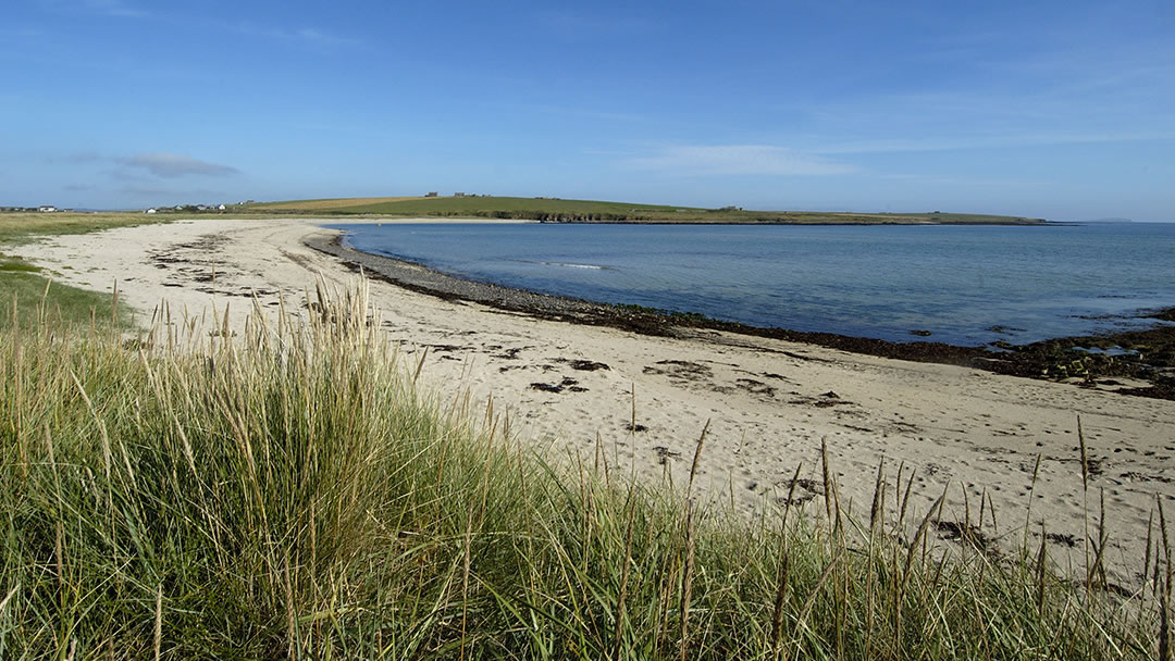 Barrier Number 4 beach, South Ronaldsay, Orkney
