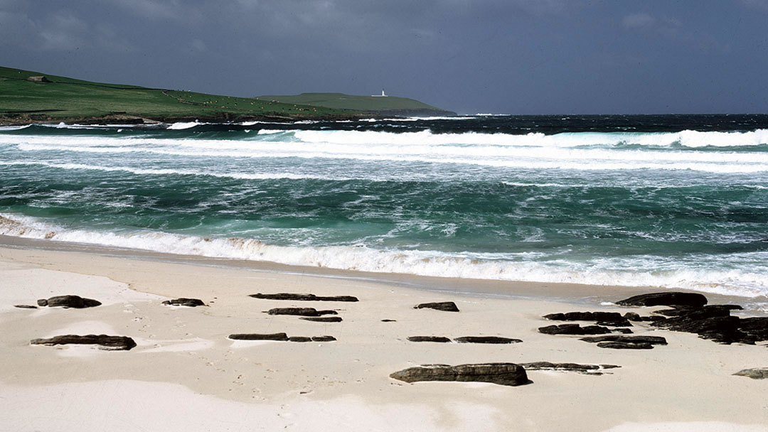 Grobust beach in Westray, Orkney