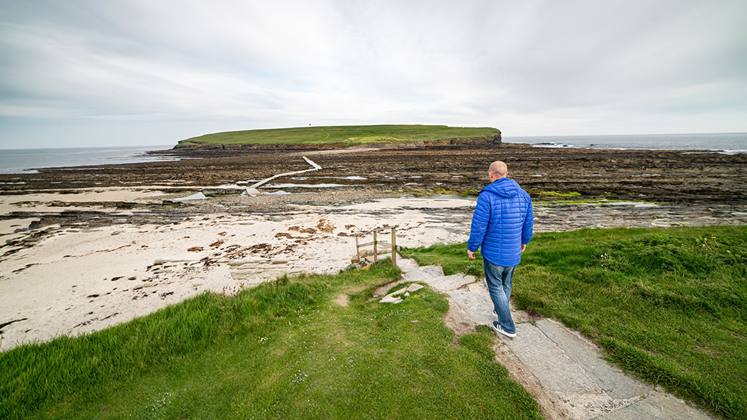 The Brough of Birsay in Orkney