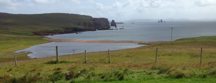 Fantastic places to Camp and Caravan in Shetland