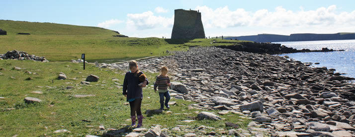 Things to do on a sunny day in Shetland