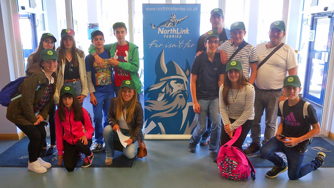 A group from Ies El Yelmo school from Andalucía Spain