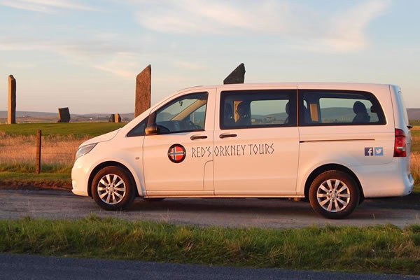reds orkney tours - Orkney Services