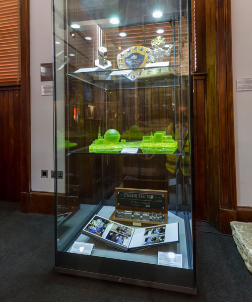 Dounreay Display Case at Caithness Horizons