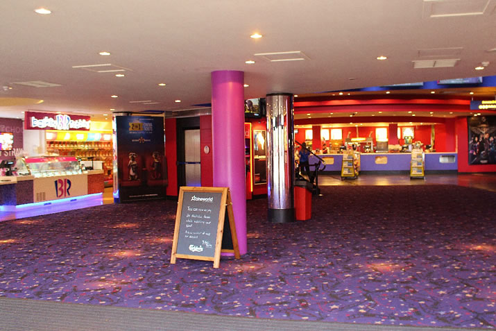 Aberdeen Union Square Cineworld Cinema