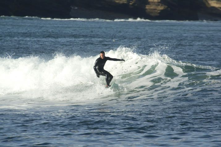 Surfing in Thurso, Caithness