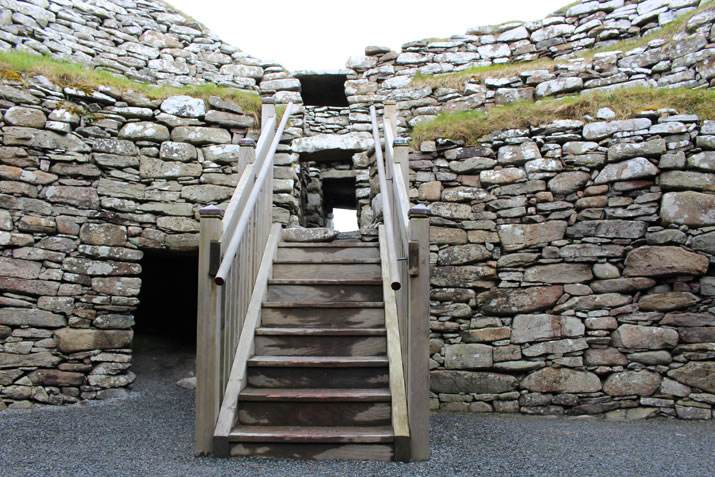 Clickimin Broch interior