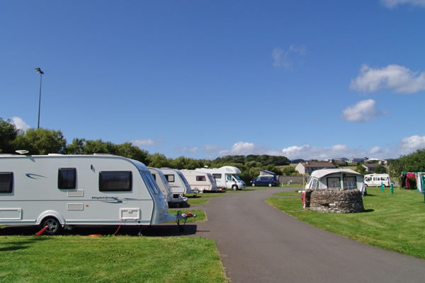 pickaquoy camp site - Orkney Hostels, Camping and Caravans