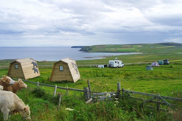 wheems campsite orkney - Orkney Hostels, Camping and Caravans