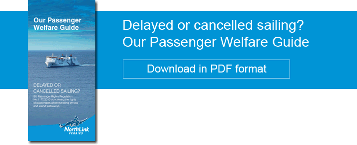 Our Passenger Welfare Guide