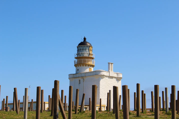 Fraserburgh Lighthouse - Kinnaird House