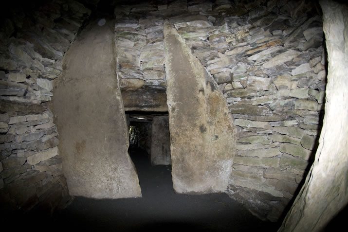 The Inner Chamber at the Grey Cairns of Camster in Caithness