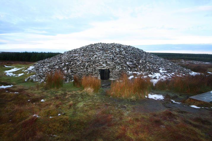 The Round Cairn at the Grey Cairns of Camster, Caithness