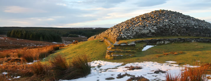 The Long Cairn at the Grey Cairns of Camster, Caithness