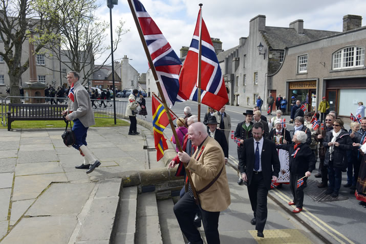 Norwegian Constitution Day, Orkney