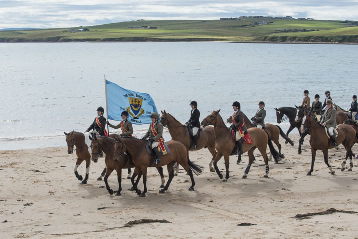 The Riding of the Marches, Orkney