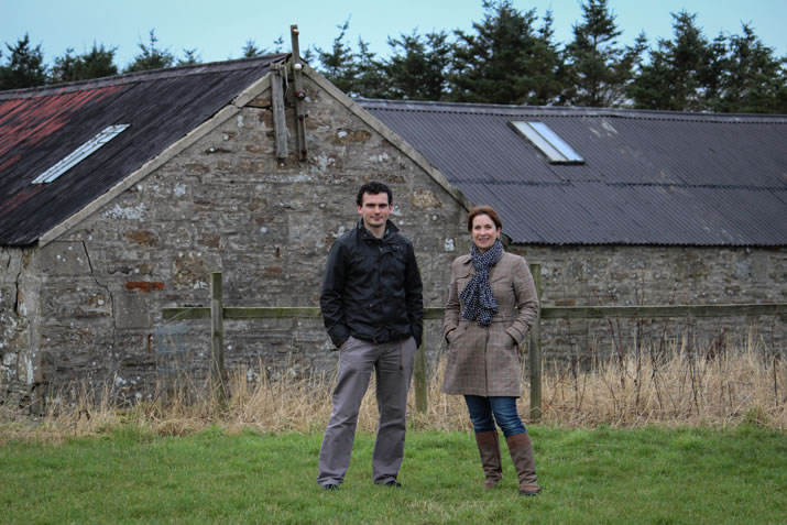 Martin and Claire Murray, Dunnet Bay Distillers, Caithness