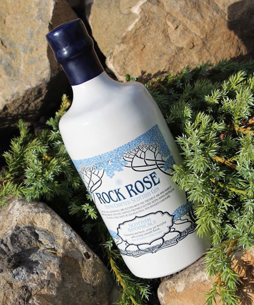 Rock Rose Gin botanicals
