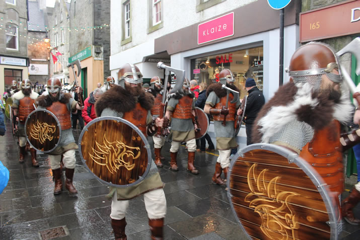 Up Helly Aa procession