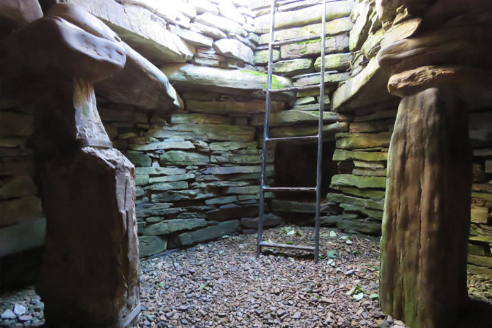 Rennibister Earth House, Orkney