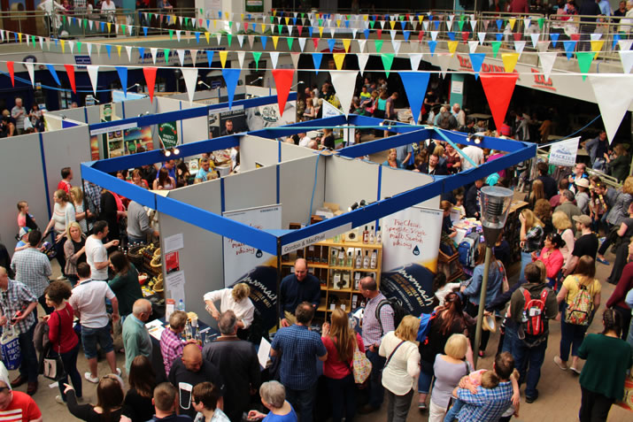 Taste of Grampian stands