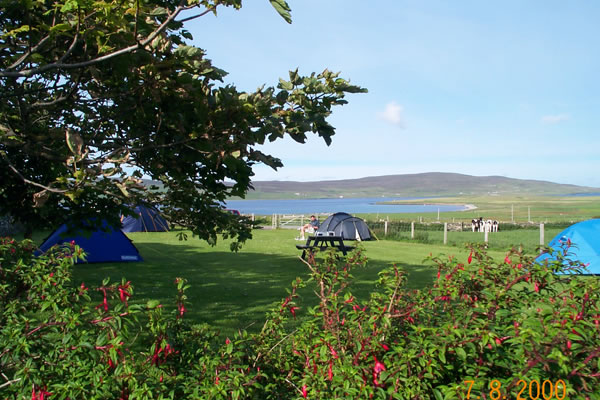 eviedale campsite - Orkney Hostels, Camping and Caravans