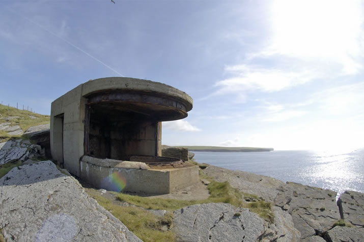 Hoxa Searchlight Emplacement