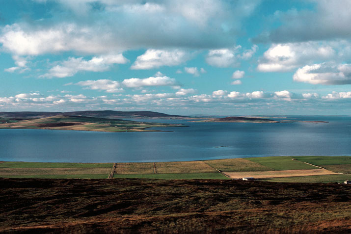 View from Wideford, Orkney