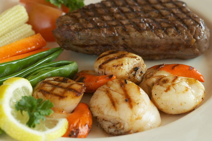 Orkney Beef and Scallops - delicious Orkney food and drink