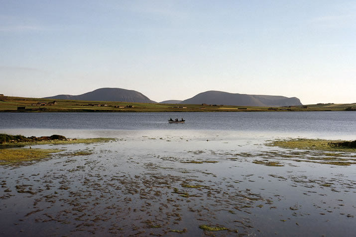 Boat on the Loch of Stenness, Orkney