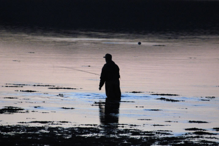 Fisherman on the Loch of Stenness, Orkney