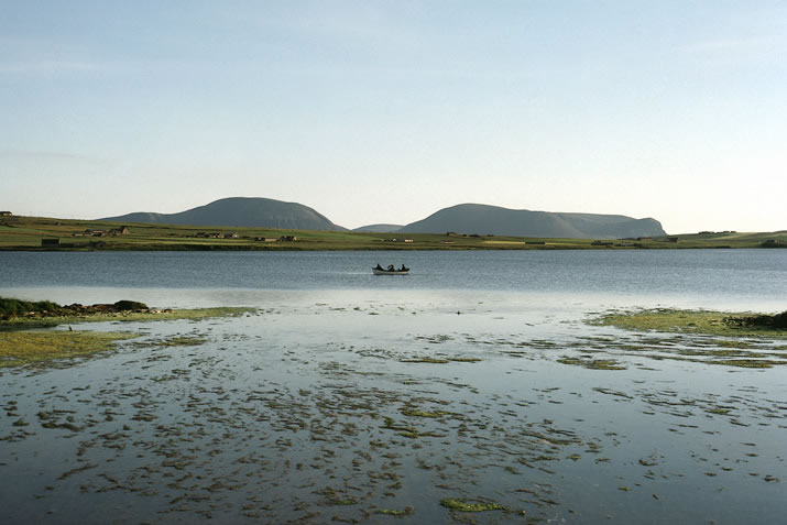 Fishing in the Loch of Stenness