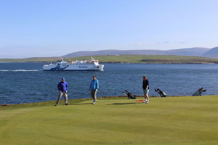 Stromness golf course, Orkney