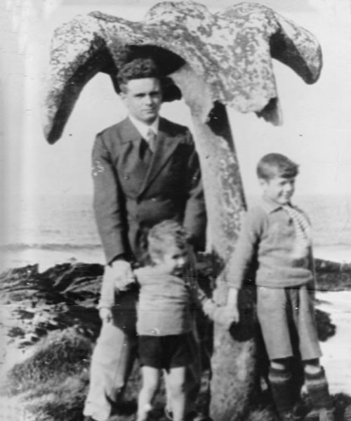 Whalebone photo from the 1930s