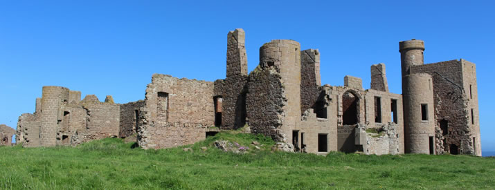 An adventure at Slains Castle