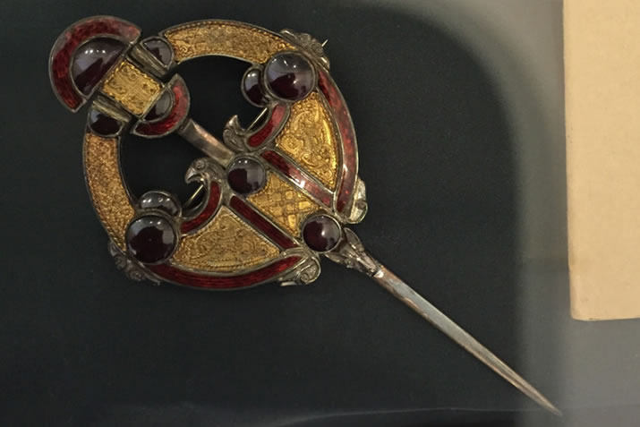 Westness brooch from Rousay in Orkney