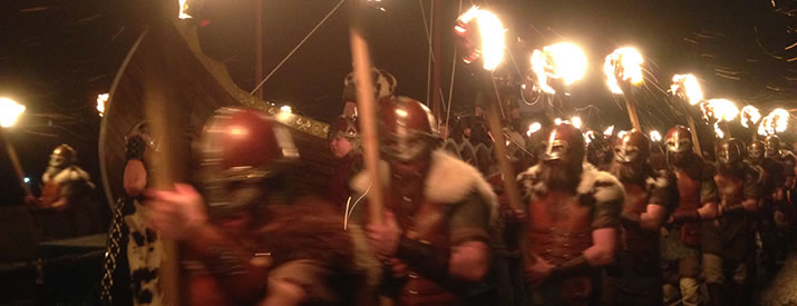 How to cross Up Helly Aa from your bucket list!