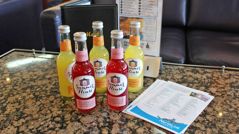 Summerhouse Drinks available on board