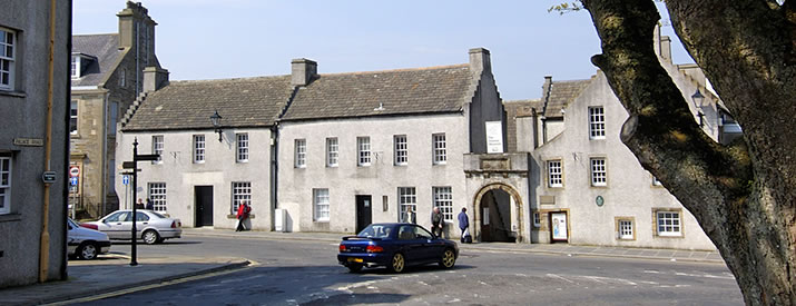 Orkney Museum in Tankerness House, Kirkwall, Orkney