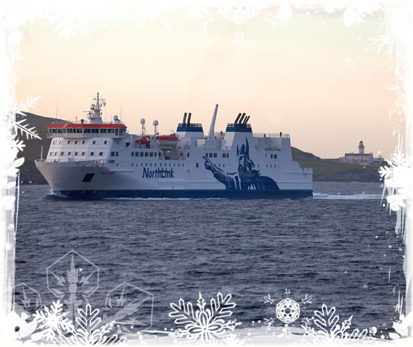 NorthLink Ferries wish you a very Merry Christmas and a Happy New Year