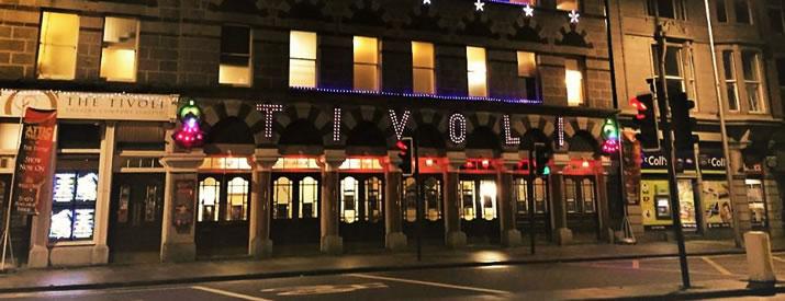 Inside Aberdeen's beautiful Tivoli Theatre
