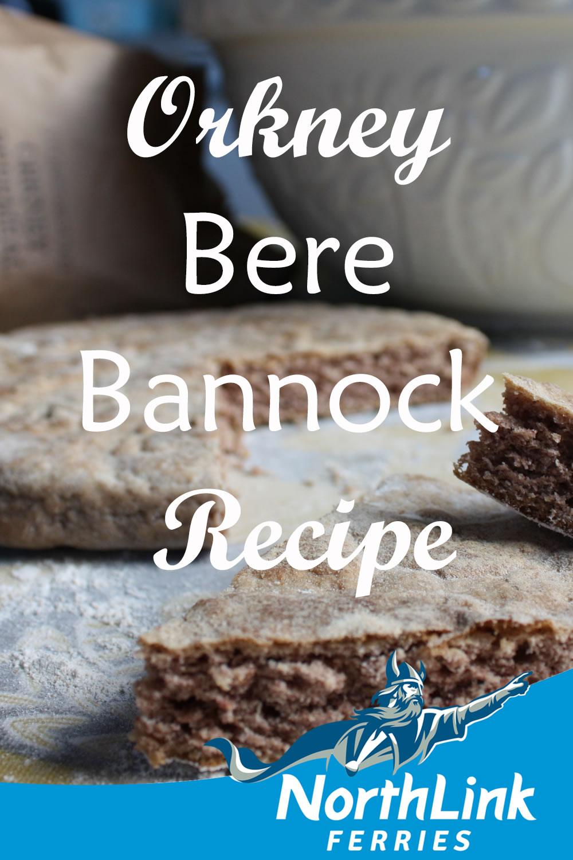 Orkney Bere Bannock Recipe