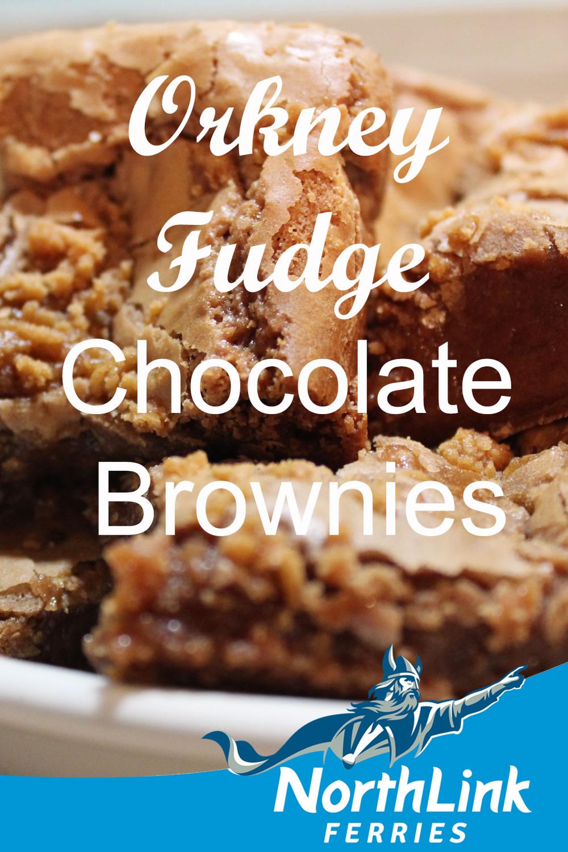 Orkney Fudge Chocolate Brownie Recipe