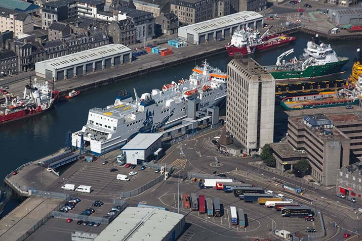 Aberdeen Harbour and Ferrry Terminal