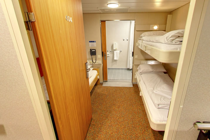 Accessible cabin on board NorthLink Ferries ships to Orkney and Shetland